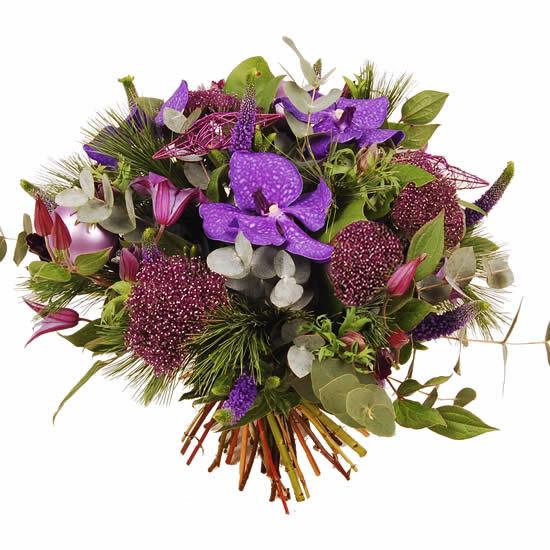 Orchidee paars boeket