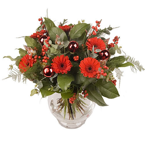 Traditioneel kerst - rood