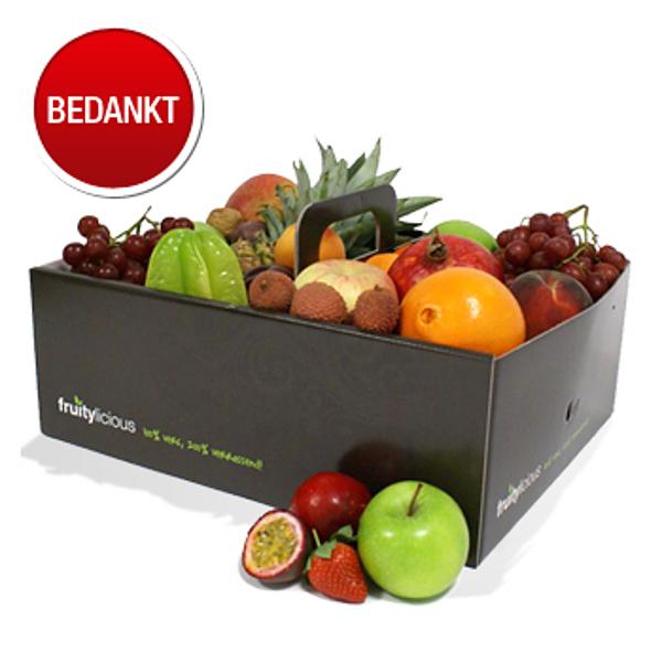 Fruitbox - bedankt