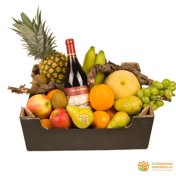Fruitbox - rode wijn