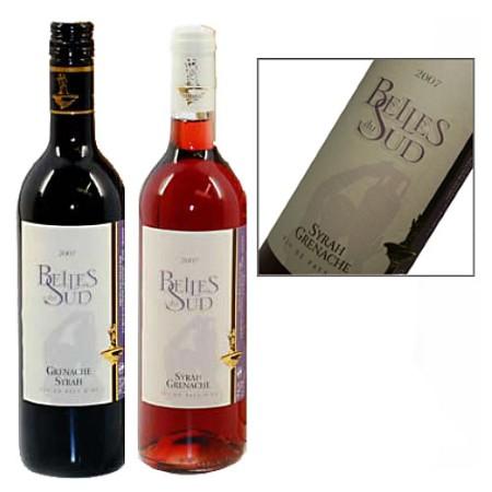Wijn duo: Rood en Rose