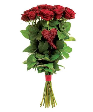 15 Rode rozen