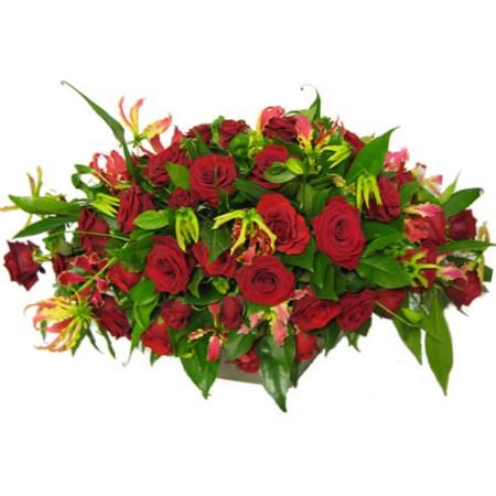 Rode rozen tak