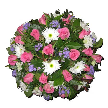Rouwbiedermeier roze-blauw