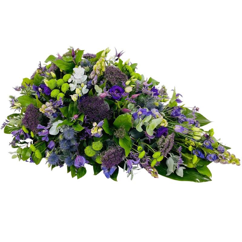 Rouwdruppel blauw - paars
