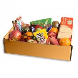 Fruitbox met snoep